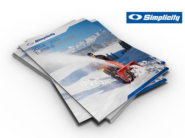 Simplicity snow-turbonewe