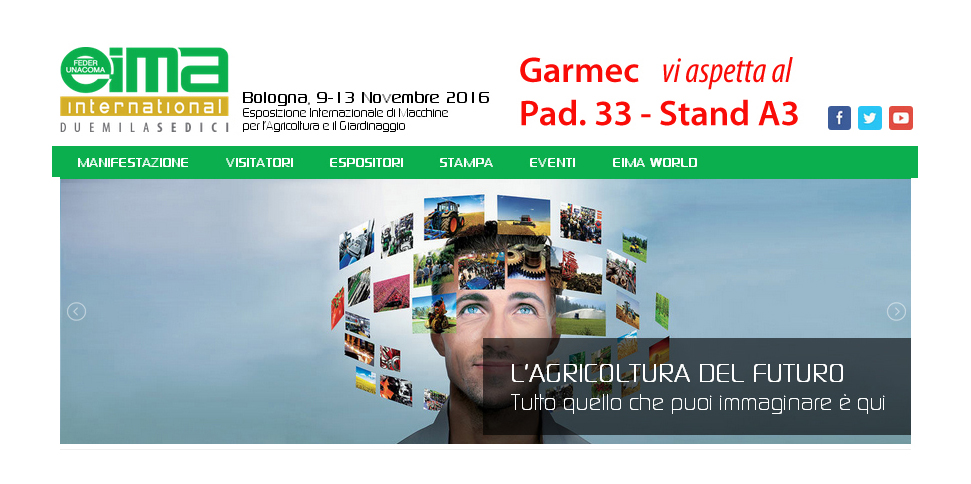 Eima International 2016 Pad 33 Stand A3